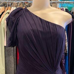 •TADASHI SHOJI• Navy Blue Dress